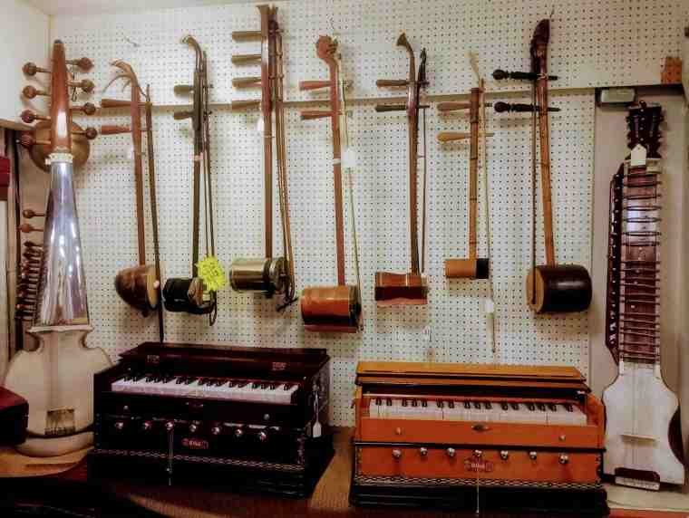 Ray Man's Instruments erhus