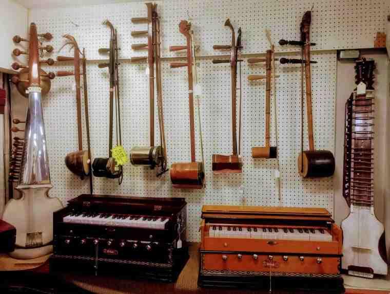 Ray Man's Instruments erhus